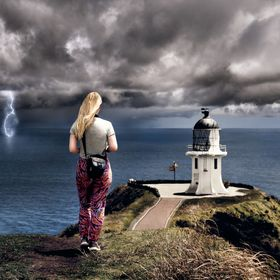 At the very tip of northern New Zealand, a storm was brewing over the sea at Cape Reinga. You really did feel like you were stood on the edge of ...