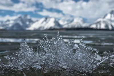Ice clump