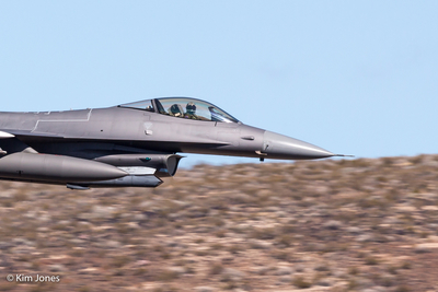 General Dynamics F-16C Fighting Falcon Cockpit