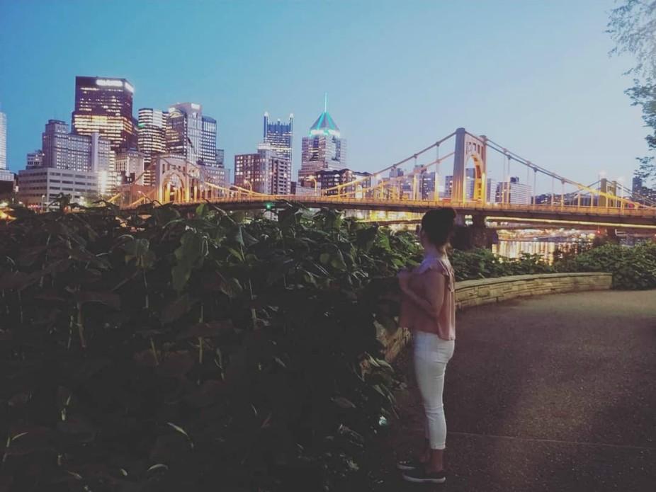 Pittsburgh vibes.