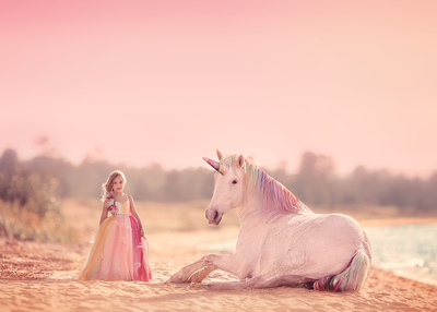 She dreams in unicorns and rainbows