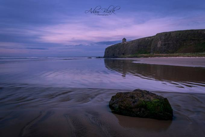 Mussenden Temple from Downhill Beach