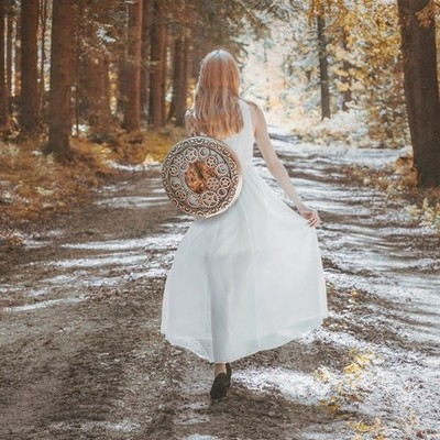 You should always waste time if you don't have any. Time is not the boss of you!  #whitedress #aliceimwunderland #aliceinwonderland #phlearn #conceptual #art #fineart #fineartphotography #forest #wald #photography #photoshop #time #pocketwatch #girl #uhr