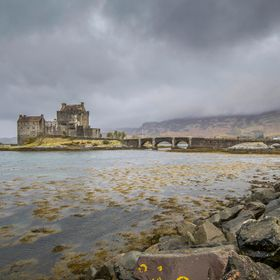 This is not the typical image of Eilean Donan that most people have seen, it is however a more accurate idea of Scotland and its fantastic landsc...