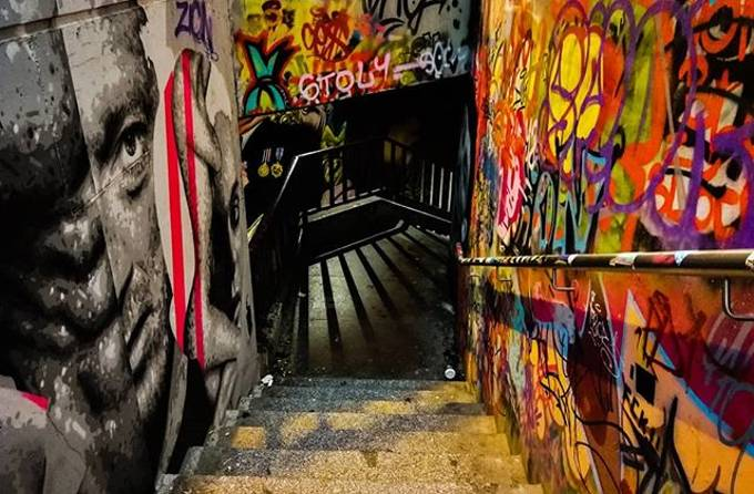ᴅᴏᴡɴᴡᴀʀᴅ by lord_spike_design - Shooting Tunnels Photo Contest
