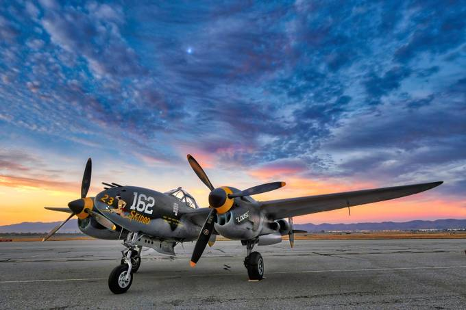 P-38 Lightning by dynastesgranti - Aircrafts Photo Contest