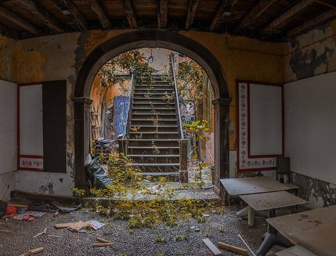 Derelict by dbalaam - Shooting Tunnels Photo Contest