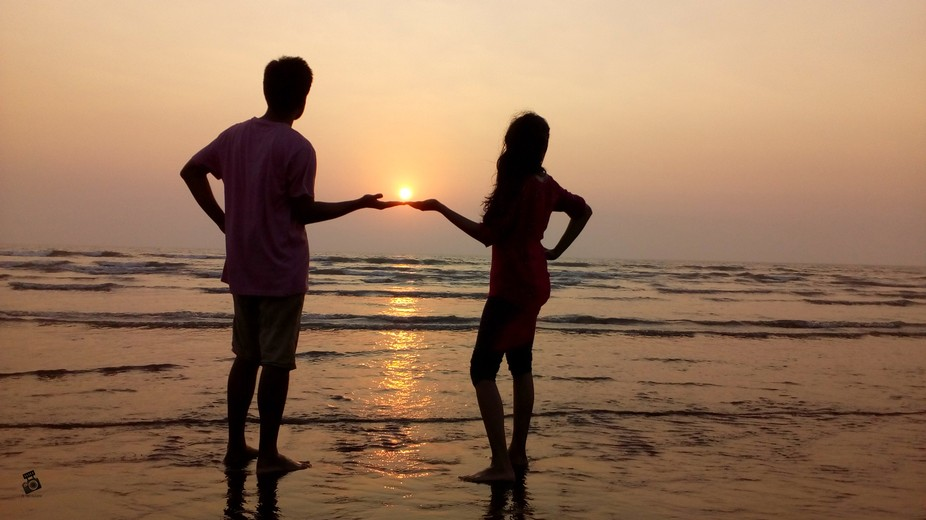 The sunsets when siblings give you the love and support you need to maintain your life balance!