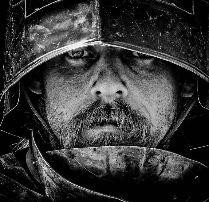 The Man inside the Metal by andynewman_3473 - Image Of The Month Photo Contest Vol 33
