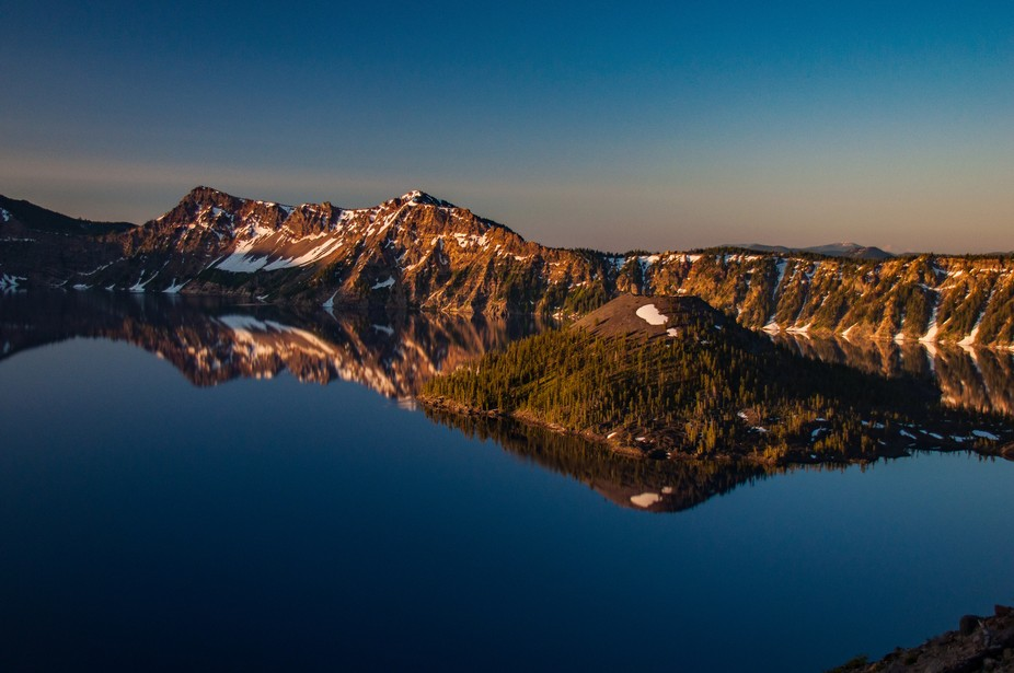 2 years ago my roommates and I took a road trip out to the PNW and stopped at Crater Lake Nationa...
