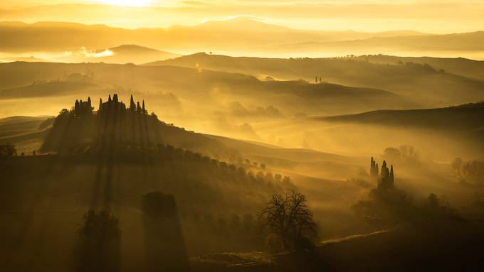 Golden Sunrise by pietrorango - Rural Vistas Photo Contest