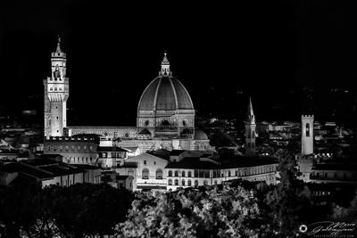 Firenze from Villa Bardini (B&W version)