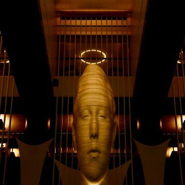 Angel in the Grand Hyatt