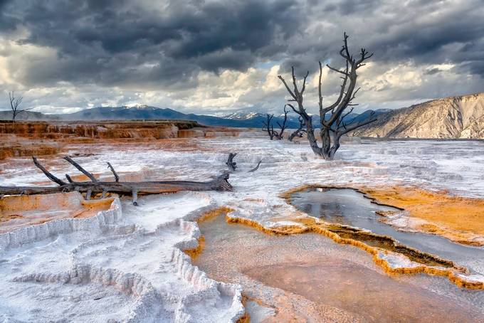 Yellowstone Hot Springs by brianadamson - Creative Landscapes Photo Contest vol3