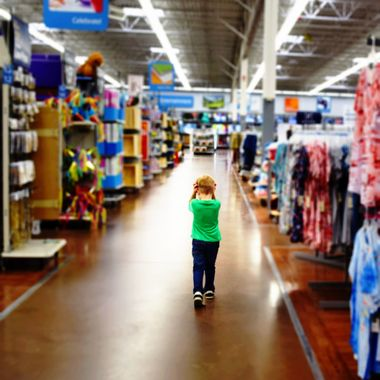 Nico Shopping at WalMart