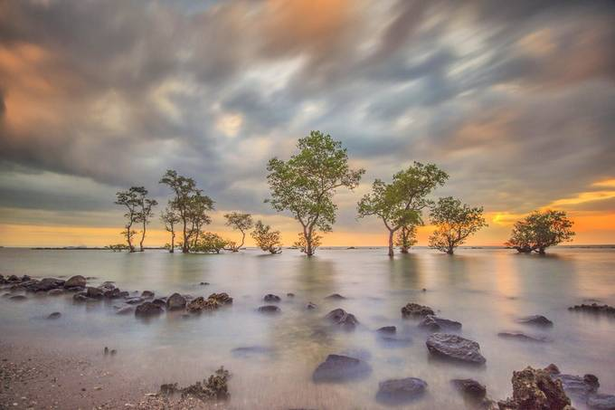 Laguna Beach by ngguhnangguhhidayat - The Moving Clouds Photo Contest