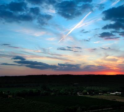 Landscape-Sun-Sunset-Sky