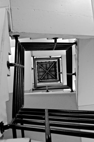 Spiral Stairjail