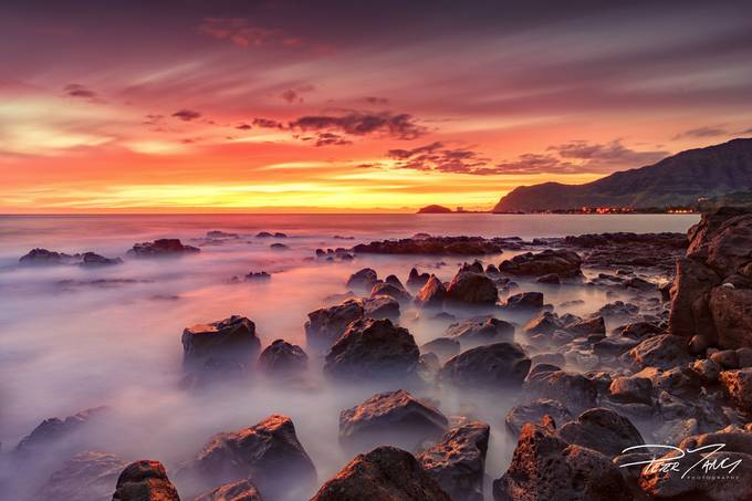 Dreamy Shore of Waianae by petertang - Boulders And Rocks Photo Contest