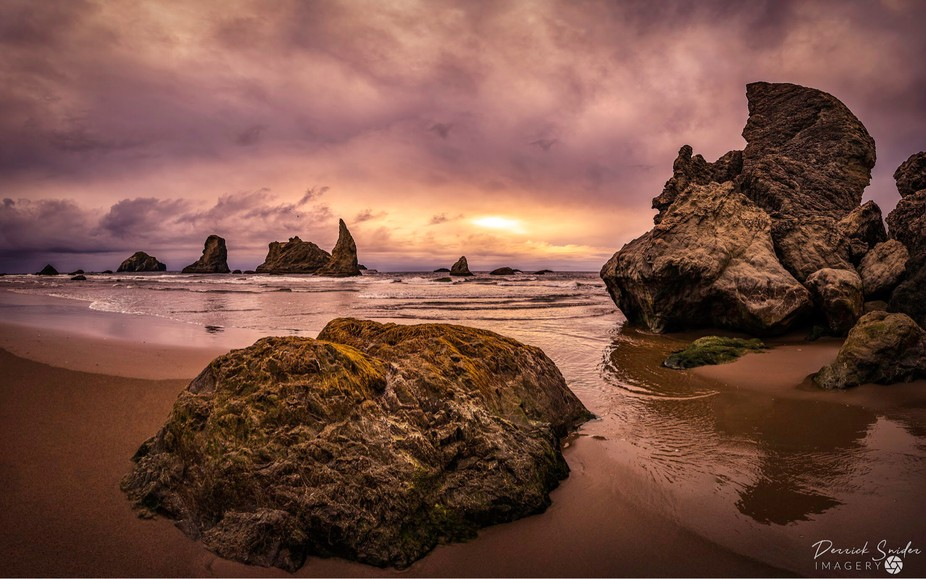 """""""Bandon""""  Bandon Beach is yet another of the many Oregon gems I had the privilege of visiting..."""