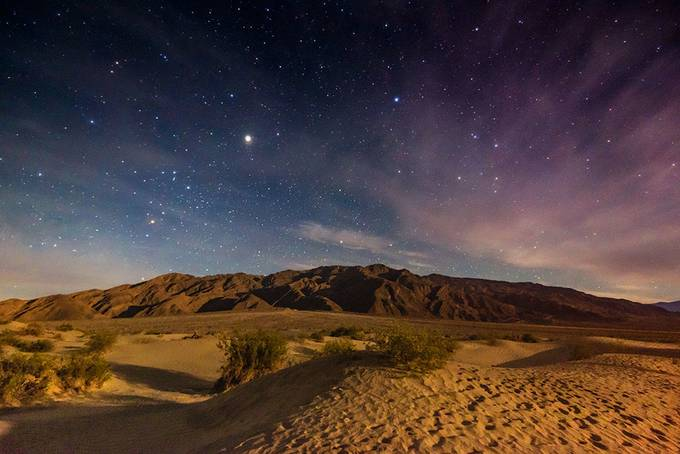 Night dunes by beamieyoung - The Night And The Mountains Photo Contest