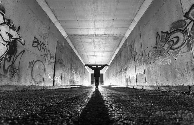 inside him... by LuisRodriguesPhotography - Shooting Tunnels Photo Contest