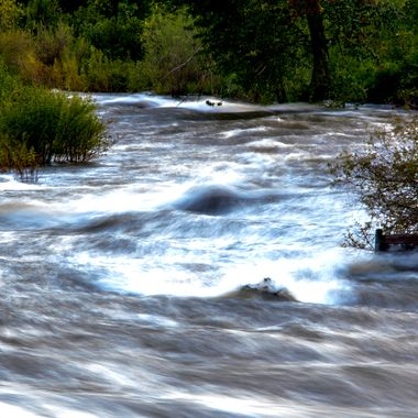 The Nicola river is at a 200 year high