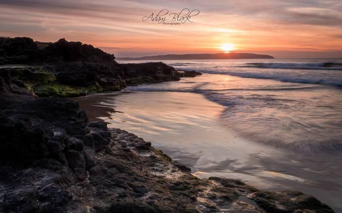 Sunset on Castlerock