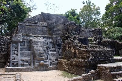 Mayan 'Mask Temple'