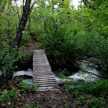 Bridge over Godey Creek near Merritt British Columbia