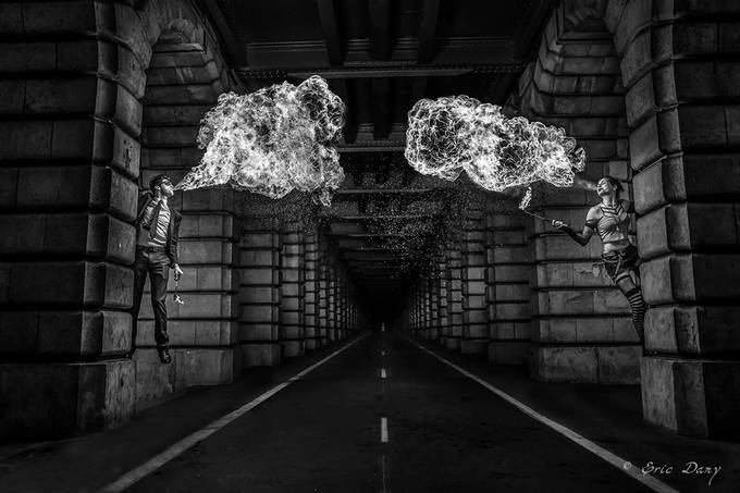 Lovers till the end by Eric_Dany - Shooting Tunnels Photo Contest