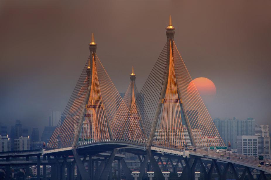 bhumibol bridge(different pov)