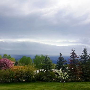 Spring Colors and Storm