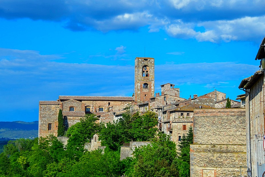 Colle di Val d'Elsa, beautiful little Tuscan town.