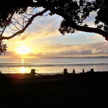Orewa Beach - North Island New Zealand
