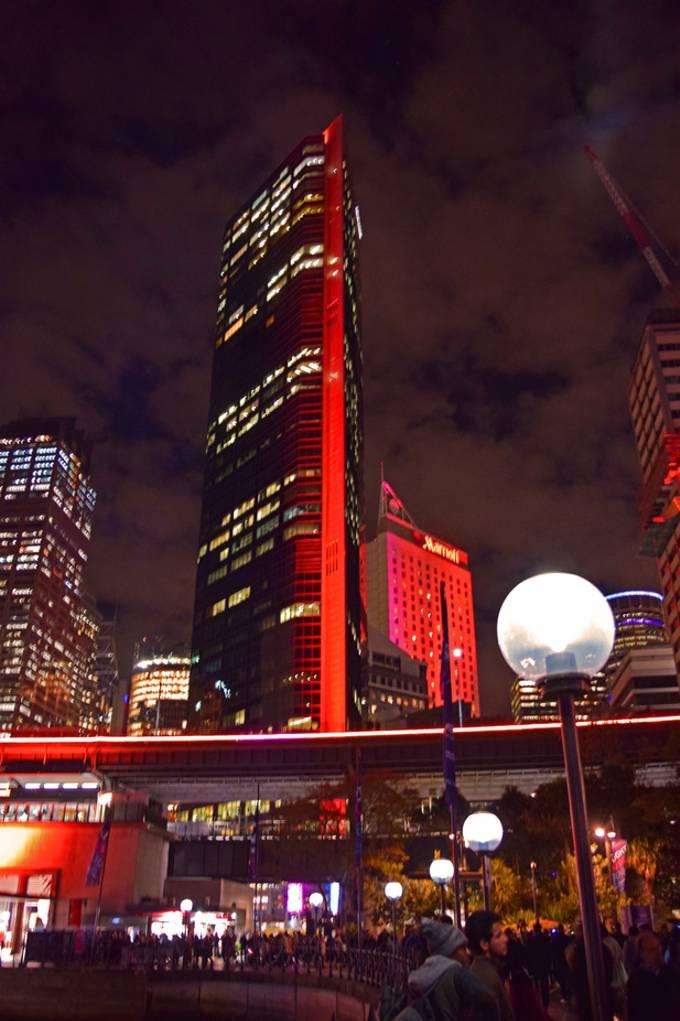 Sydney - Circular Quay - Vivid 2017
