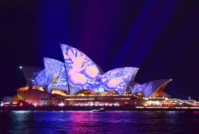 Sydney - Opera House - Vivid 2017