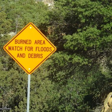 signs on Mt Graham in AZ
