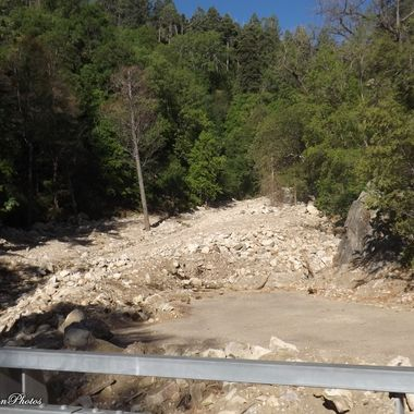 former wet creek