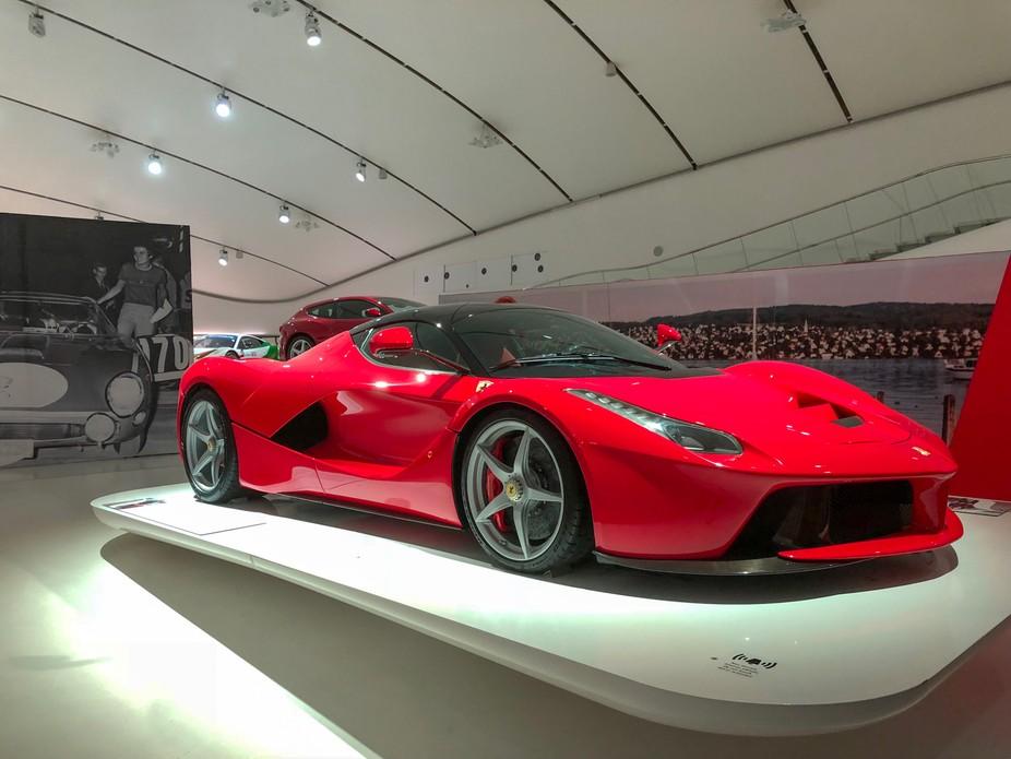 Visit to Ferrari Museum