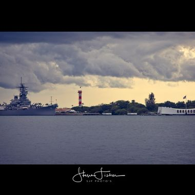 USS Arizona and USS Missouri