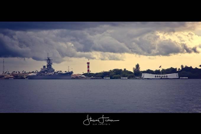USS Arizona and USS Missouri