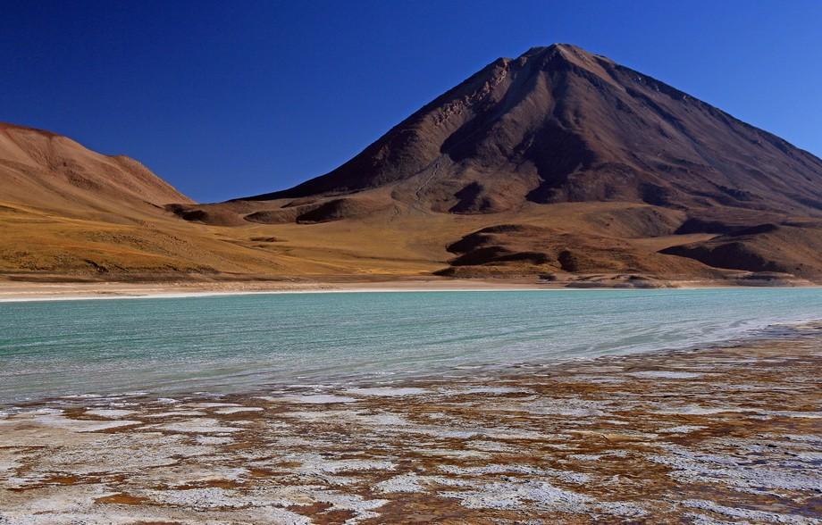 Laguna Verde and Licancabur