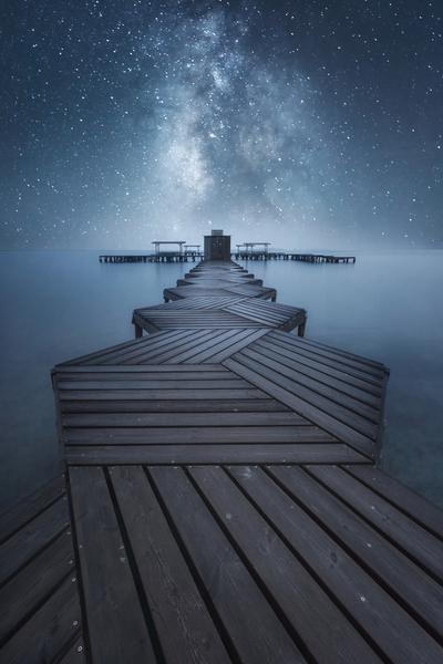 Stars over mar menor