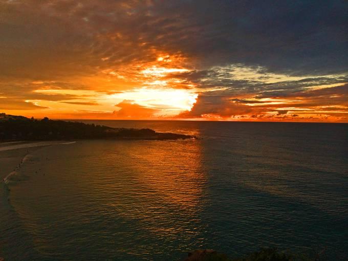 Sunrise,  Freshwater Beach