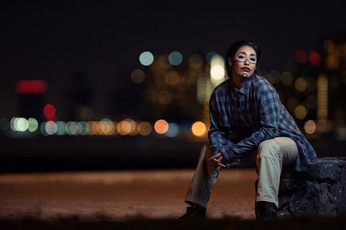 Clown Chola by NSSP - People With Bokeh Photo Contest