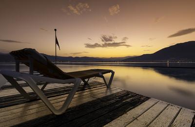 Lake Como @ Sunrise