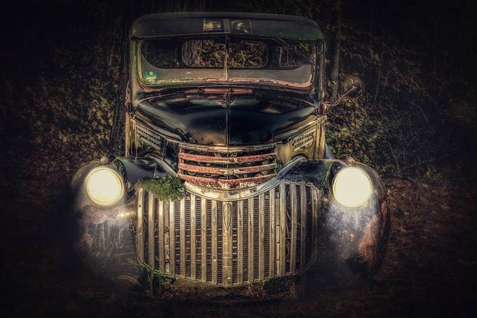 Forgotten  by Aklivingston - My Favorite Car Photo Contest
