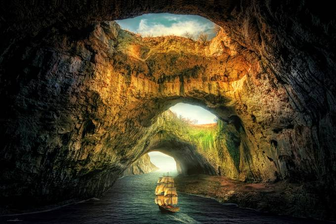 A New World by douglasrichardson - Fantasy In Color Photo Contest