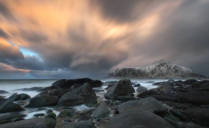 Skagsanden beach sunset by MaurizioCasulaPhoto - The Moving Clouds Photo Contest